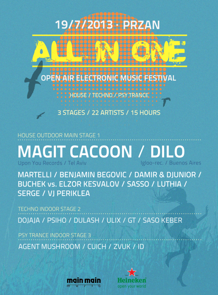 All in one festival Ljubljana Slovenia 2013