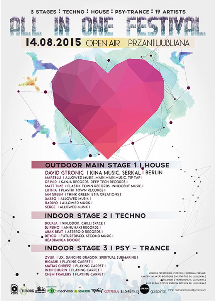 All in One Festival Ljubljana 2015